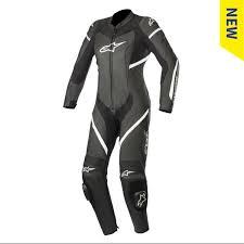 Alpinestars Stella Kira <b>1pc</b> Suit <b>Black</b> White   J&S Accessories