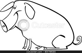 Image result for the pigs caricature