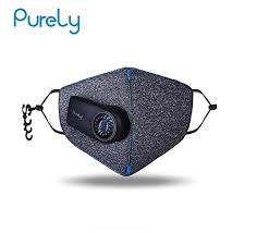 <b>Purely Kn95 Anti</b>-<b>Pollution</b> Air <b>Mask</b> with Pm2.5 550 mAh Battreies ...