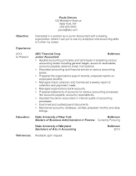 accounting student resume profile cipanewsletter cover letter objective for accountant resume objective for