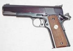 The National Match .45 ACP Pistols