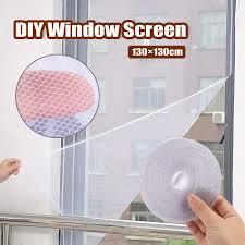 DIY <b>Self</b>-<b>Adhesive Window</b> Screen Netting Mesh <b>Insect</b> Fly <b>Bug</b> ...