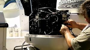 how to replacing the powerpack on a johnson evinrude outboard Johnson 4 Stroke Trim Selonoids Wiring Diagram how to replacing the powerpack on a johnson evinrude outboard motor youtube