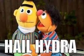 Villainous Whispering Memes : Hail Hydra meme via Relatably.com