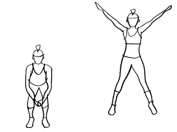 Image result for jumping jack exercise