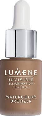 <b>Lumene Invisible Illumination</b> Watercolor Bronzer - <b>Ухаживающий</b> ...
