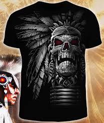 Купить мужскую футболку <b>Череп Вождя</b> от GooD / 14-1671-1 в ...