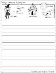 Creative Writing Worksheets Kidzone