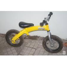 Отзывы о Детский велосипед с педалями <b>Беговел Hobby Bike</b>