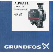 <b>Насос</b> циркуляционный <b>Grundfos Alpha1</b> L 25/60 180 мм в Москве ...