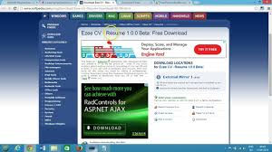 top resume builder best software for windows video 03 02