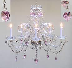pink chandelier for girls room1246 x 1173