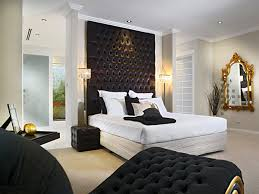 modern bedroom concepts: black modern bedroom design ideas