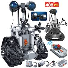 US $33.11 60% OFF|<b>ERBO 408PCS City Creative</b> RC Robot Electric ...