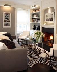 beautiful modern chic living rooma studio apartment near central park in chic living room