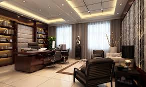 lawyer office design. modern ceo office interior design with executive lawyer