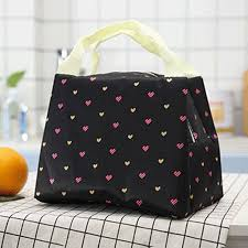 SaicleHome Popular Student <b>Portable</b> Waterproof <b>Lunch Box Bag</b> ...