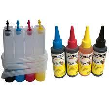 <b>4 Colors</b> CISS DIY Kit <b>Ink</b> Tank ANDUniversal <b>Dye Ink</b> 100ml ...