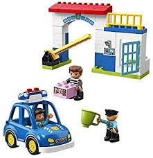 LEGO DUPLO Town Police Station 10902 Building ... - Amazon.com