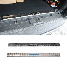 Stainless Inner Rear Sill Bumper Cover Plate <b>1pcs</b> For 2014-<b>2019</b> ...