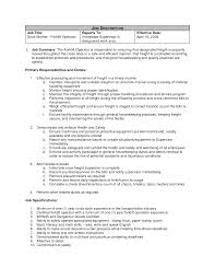 forklift job description for resume perfect resume 2017 forklift
