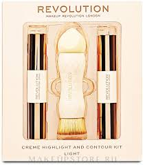 <b>Набор</b> - <b>Makeup Revolution</b> Creme Highlight and Contour <b>Kit</b> ...