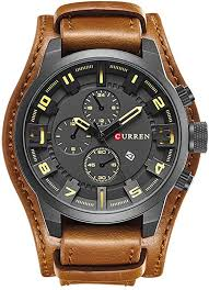 CURREN 8225 <b>Men</b> Military Quartz Watch <b>Top</b> Brand <b>Luxury</b> ...