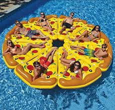 Inflatable Pizza Piece Salon Giant Pizza Swimming Pool Swimming ...