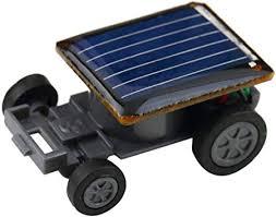 AKDSteel Mini Solar Powered Racing Car Shape ... - Amazon.com