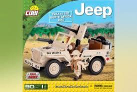 "Пластиковый <b>конструктор COBI</b> ""<b>Jeep Willys</b> MB North Africa 1943 ..."