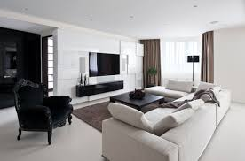 in black brown colour tv hall furniture designs cozy bungalow interior design interior design living room ideas contemporary photo
