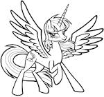 Мой пони раскраски онлайн