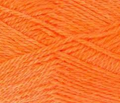 <b>Пряжа Пехорка Конкурентная Цвет.189</b> Ярко-оранжевый оптом ...