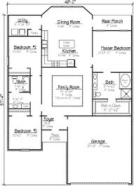 Louisiana Style Garden Home Plan   KB   st Floor Master    Floor Plan