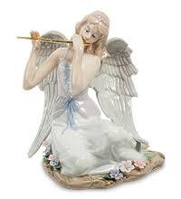 "<b>JP</b>-<b>16/11</b> Статуэтка ангел ""Волшебная флейта"" (<b>Pavone</b> ..."