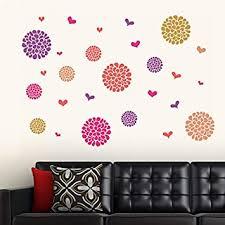 Buy <b>Decals</b> Design 'Flower <b>Pattern</b> Motifs' Wall <b>Sticker</b> (PVC Vinyl ...