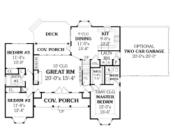 Ranch House Plan   Bedrooms and   Baths   Plan First Floor Plan
