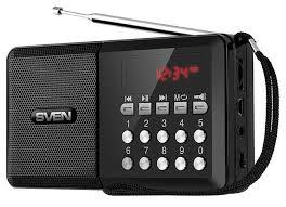 Радиоприемник Sven PS-60 Черный, купить в Москве, цены в ...