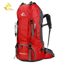 Free Knight <b>60L</b> Waterproof Climbing Hiking Backpack Rain Cover ...