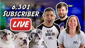 <b>6,301</b> Subscriber LIVE Thank you! - YouTube