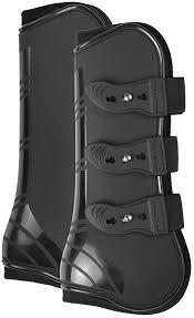 Lixada <b>4 PCS Front</b> Hind Leg Boots Adjustable Horse Leg Boots ...