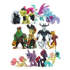 <b>12 Pcs</b>/<b>set</b> 3 7CM <b>My Cute</b> Lovely Little Horse Action Figures Model ...
