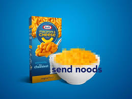 Kraft wants you to <b>send</b> '<b>noods</b>' (not nudes) to comfort family and ...
