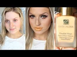 First Impression Review <b>Estee Lauder Double</b> Wear Foundation ...