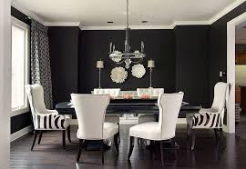 dining room chairs white coffered ceiling