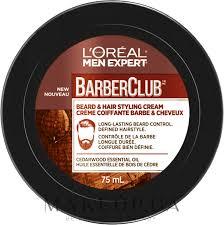 <b>L'Oreal Paris</b> Men Expert Barber Club - <b>Крем</b>-<b>стайлинг для</b> укладки ...