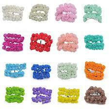<b>36/72</b>/<b>144pcs</b> 2cm Artificial Rose Flowers <b>PE Foam</b> Flower Bouquet ...