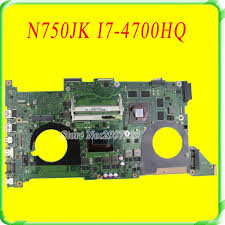 For Asus <b>Motherboard</b> N750J <b>N750JK</b> REV3.0 <b>Mainboard I7</b> ...