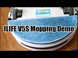 Chuwi <b>ILIFE</b> V5S (or <b>V5</b> Pro) Mopping Demo - YouTube
