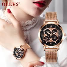 <b>Original</b> OLEVS Jam Tangan Wanita S-L5188 Rose <b>Gold</b> Women's ...